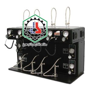 04-01-03 Filter Press, HTHP, 175 mL, 4 Unit, with Regulators and Temperature Controllers Ofite