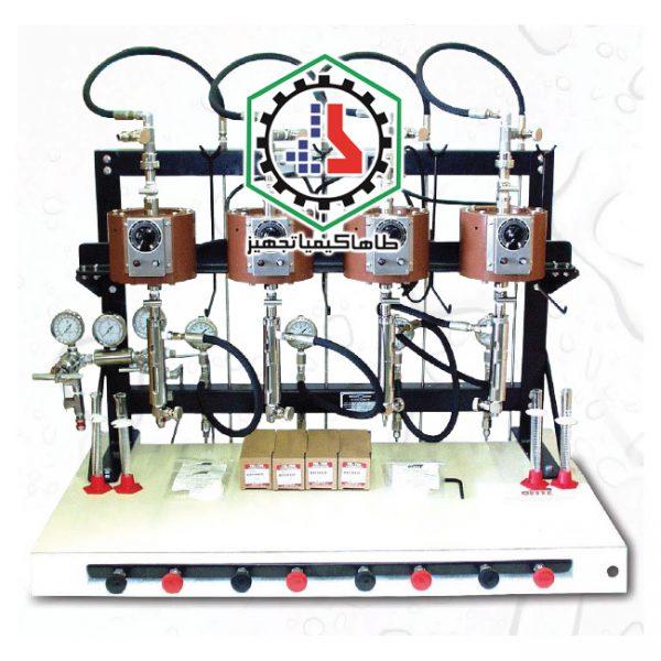 ۰۴-۰۱-۱۲-Filter Press, HTHP, Model MB, 4 Unit-Ofite