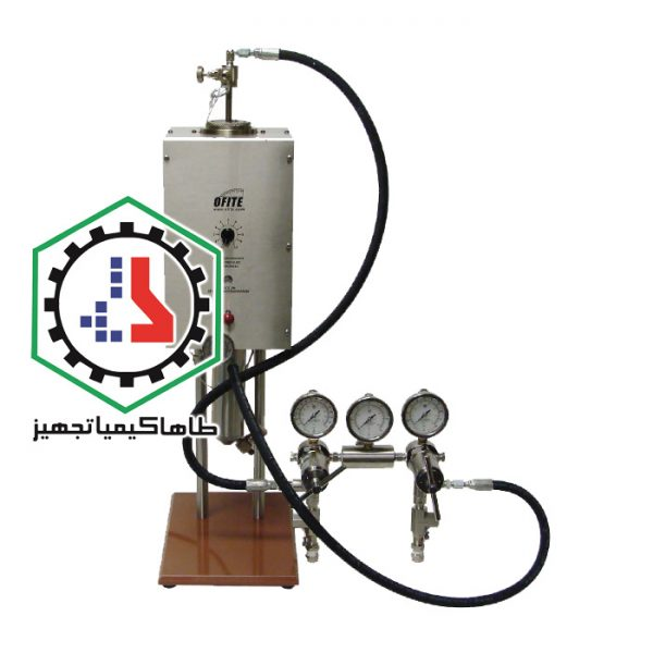 ۰۵-۰۴-HTHP Filter Press, 500 mL, Threaded Cell, Cement-Ofite