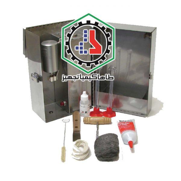 ۱۰-۰۱-Retort Kit, 10 mL-Ofite